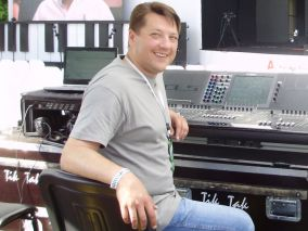 Sergey Golovin, a Ukrainian recording and FOH sound engineer