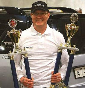 Sergej Dubinin, EMMA car audio competition multi time winner and audio enthusiast